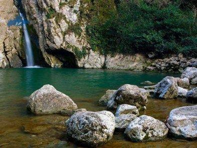Las cascadas de Agur