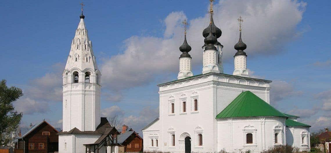 Explorar el Monasterio Aleksandrovski en Suzdal; Visitar el Monasterio Aleksandrovski en Suzdal; Que ver en el Monasterio Aleksandrovski en Suzdal