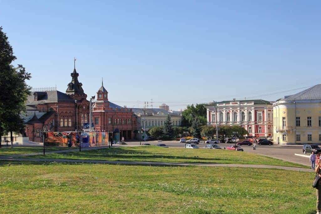 Visitar la Plaza de la Catedral de Vladimir; Recorrer la Plaza de la Catedral de Vladimir; Que ver en la Plaza de la Catedral de Vladimir.