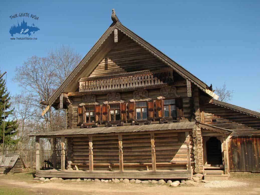 Visitar el Complejo Arquitectónico de Vitoslavlitsy