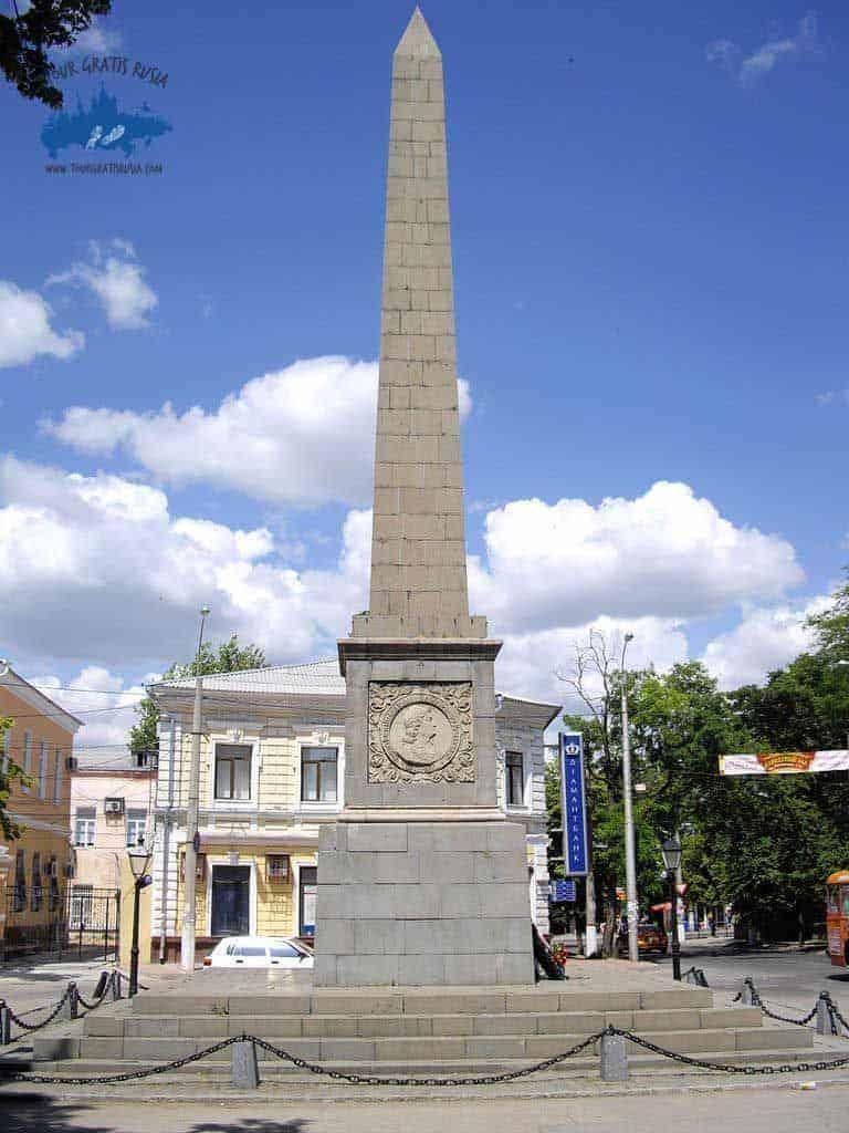 Ver el Obelisco Dolgorukovsky de Simferopol; Conocer el Obelisco Dolgorukovsky de Simferopol; Visitar el Obelisco Dolgorukovsky de Simferopol