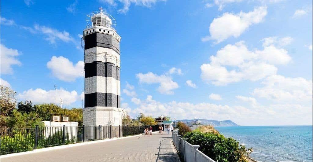 Ir al Faro de Anapa; Conocer el Faro en Anapa; Visitar el Faro en Anapa