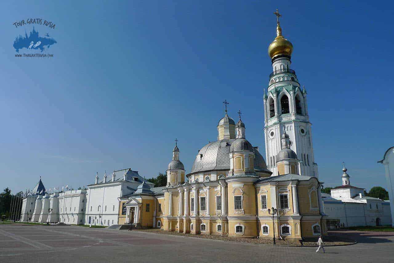 Visitar el Kremlin de Vologda