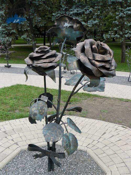 Conocer el Parque de las Figuras Forjadas de Simferopol