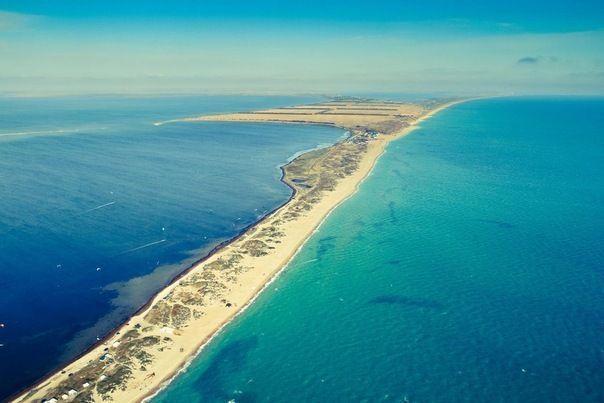 Conocer algunos lugares de Anapa; Que playas ver en Anapa; Visitar la costa Spit en Anapa