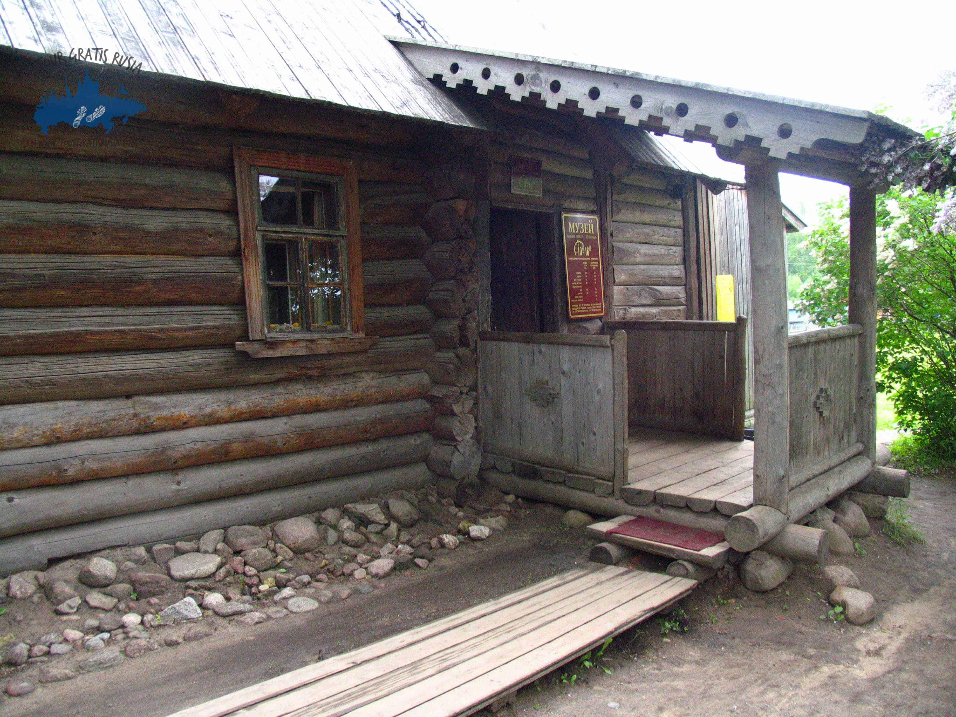 Conocer la cabaña de la Niñera de Pushkin
