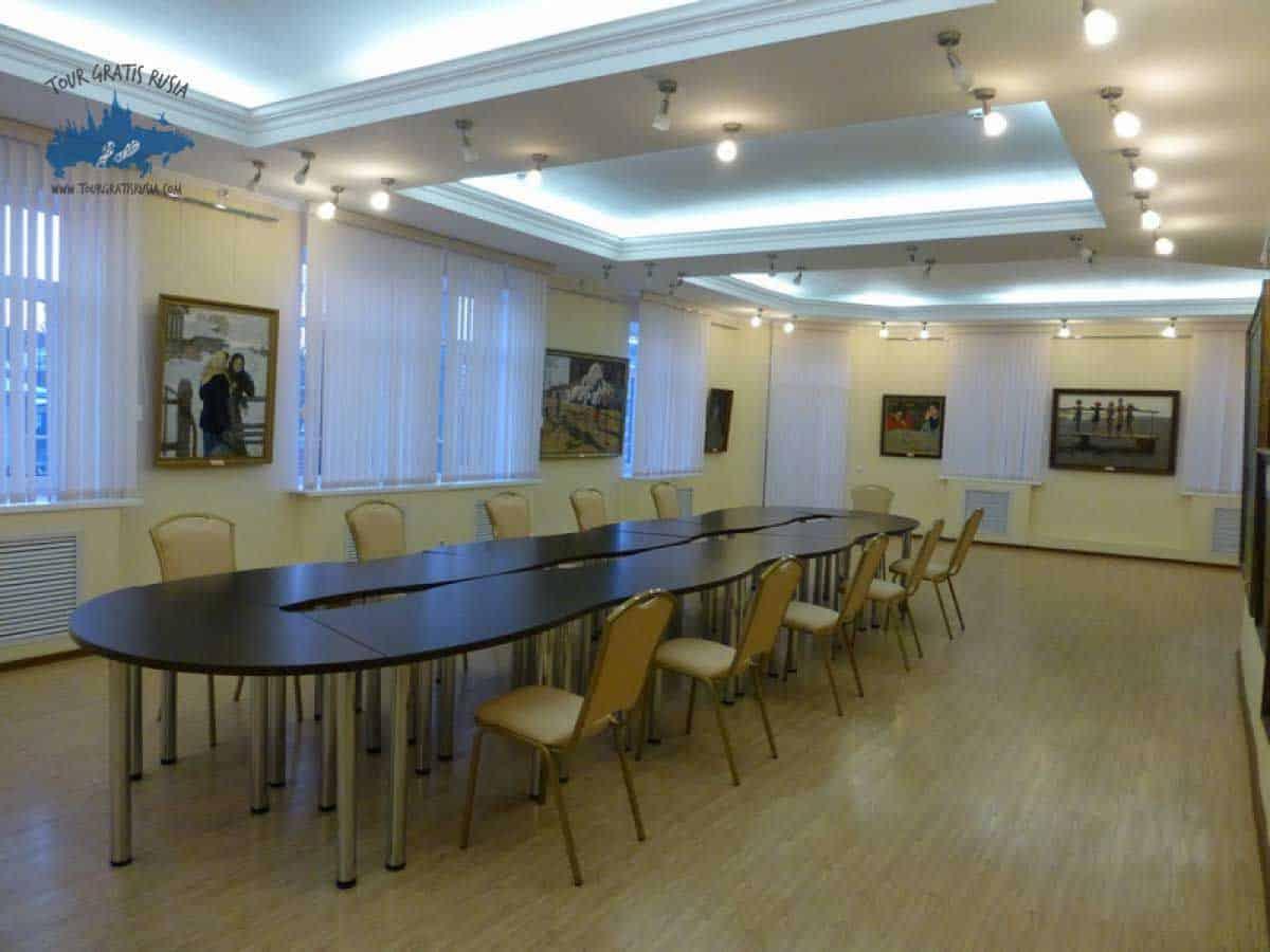 Visitar el museo de los Hermanos Tkachev