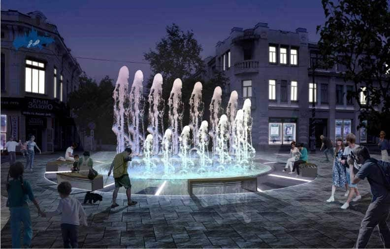 Recorrer la Calle Pushkin en Simferopol