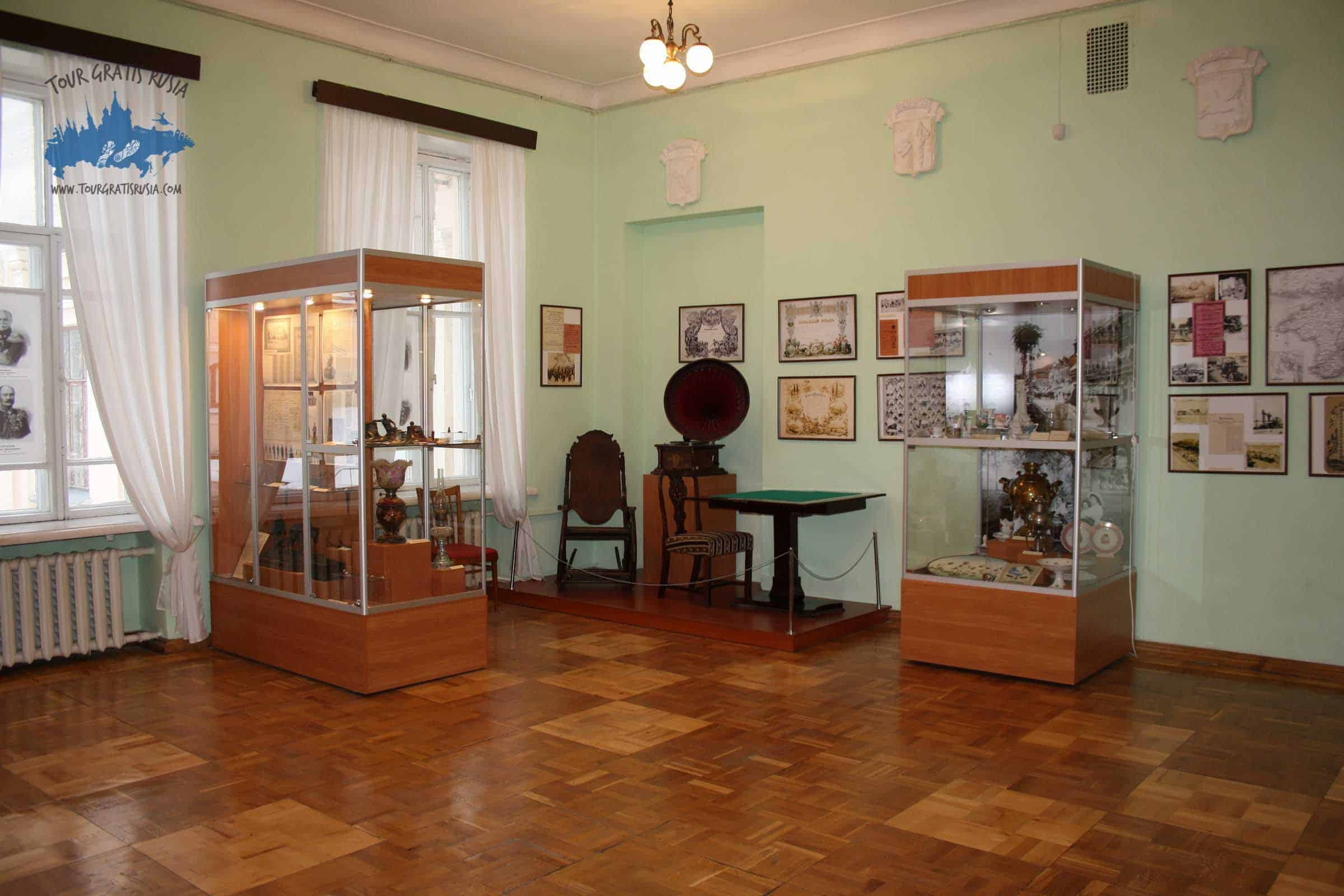 Excursionar en el Museo Central de Tauris en Simferopol