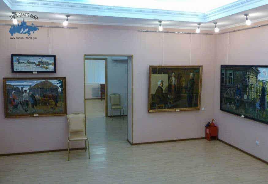 Recorrer el museo de los Hermanos Tkachev; Que ver en el museo de los Hermanos Tkachev