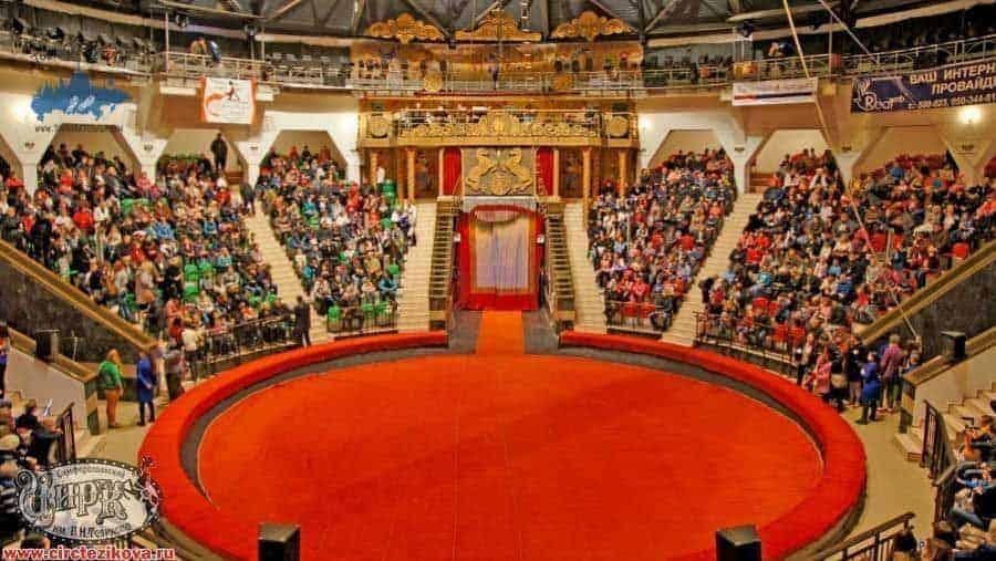 Como llegar al Circo en Simferopol