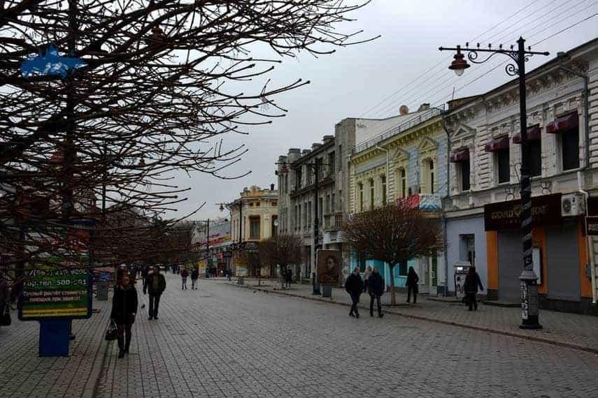 Visitar la Calle Pushkin en Simferopol