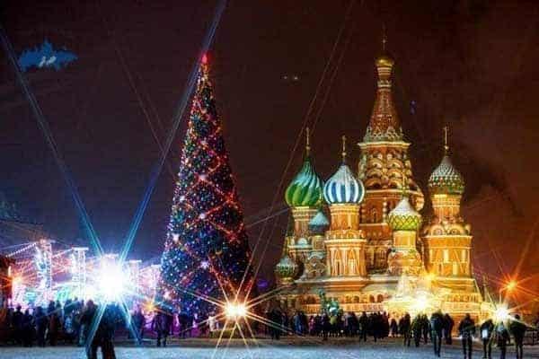 Año Nuevo 2018 en Rusia