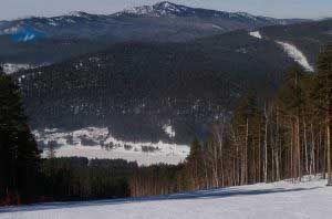 Visitar las estaciones de esquí en Rusia