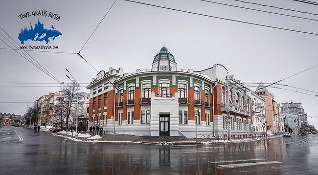 Edificio del museo militar en Samara tour gratis Rusia