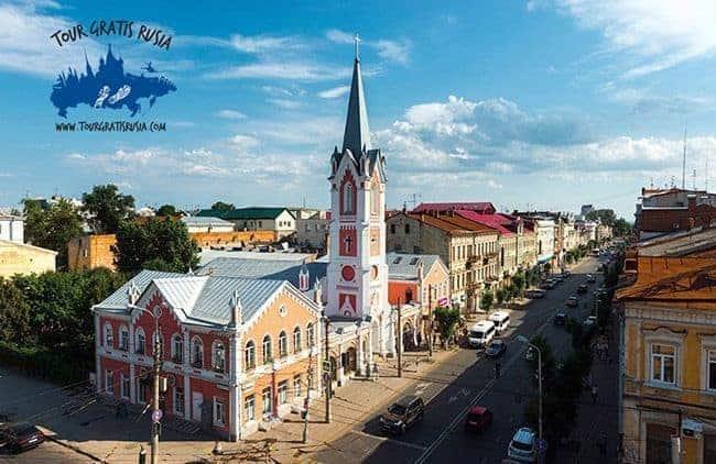 Iglesia luterana de Samara Rusia
