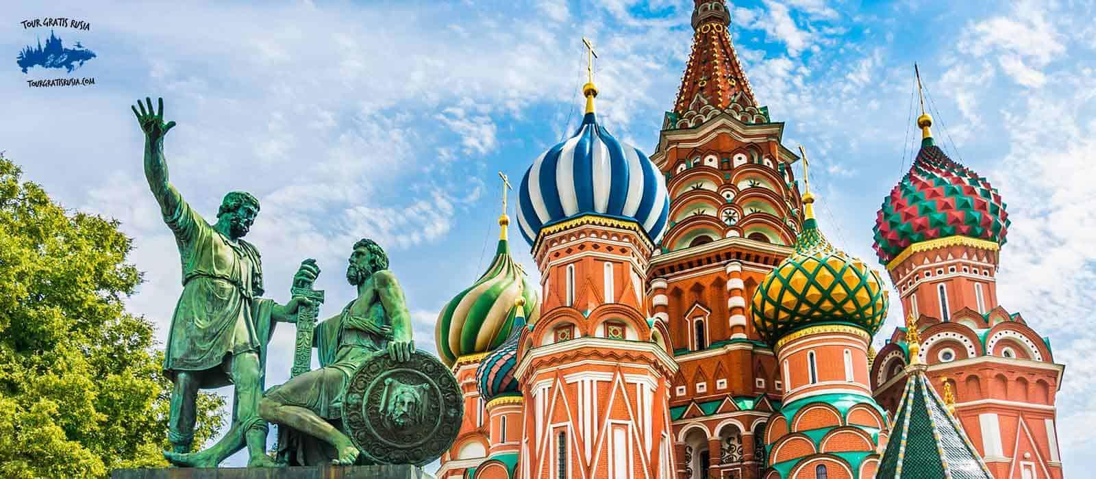 Tour gratis centro de Moscú