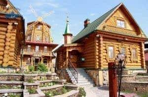 pueblo de madera Kazan