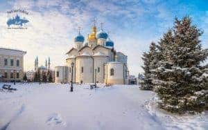 paseo por Kazan invierno