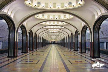 Ver el metro de Moscu; Visitar el metro de Moscu Rusia; Tour en el Metro de Moscú