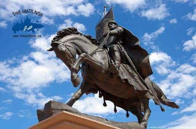 onumento-al -príncipe Zasekin-el-fundador-de-Samara