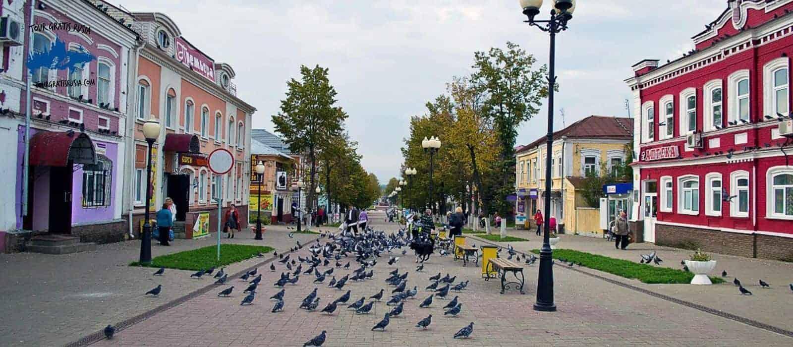 Tour a la ciudad de Semiónov