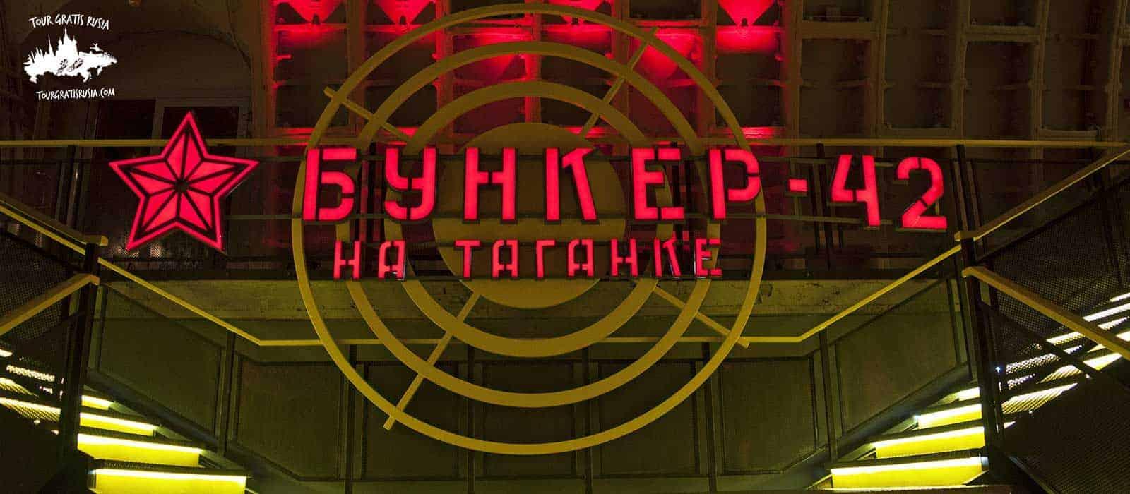 Tour Bunker 42 Moscú