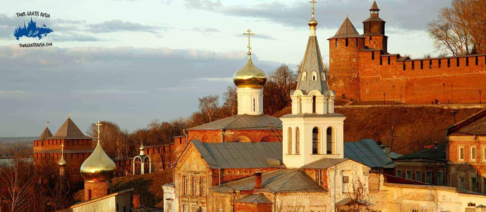 Tour centro histórico de Nizhni Novgorod