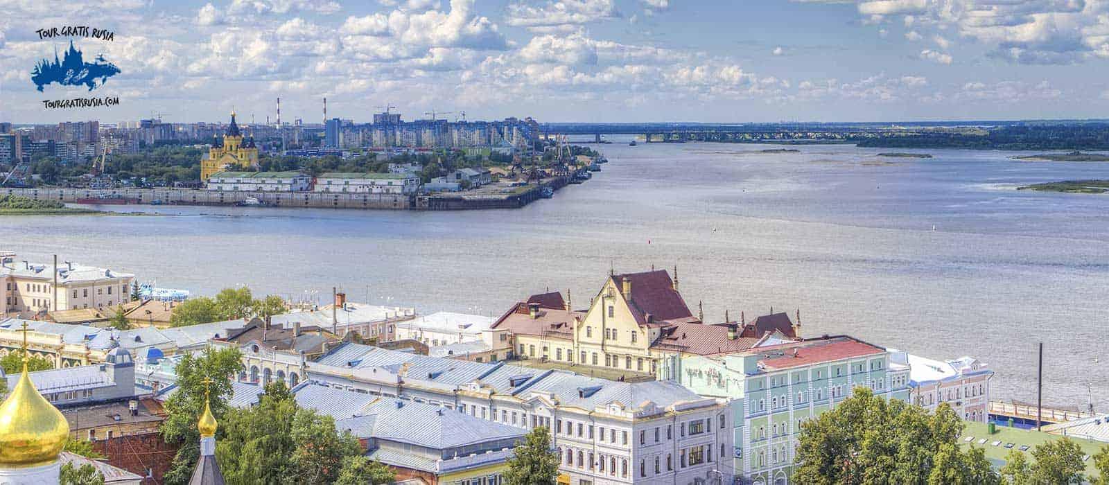 Tour en el río Volga y río Oka en barco