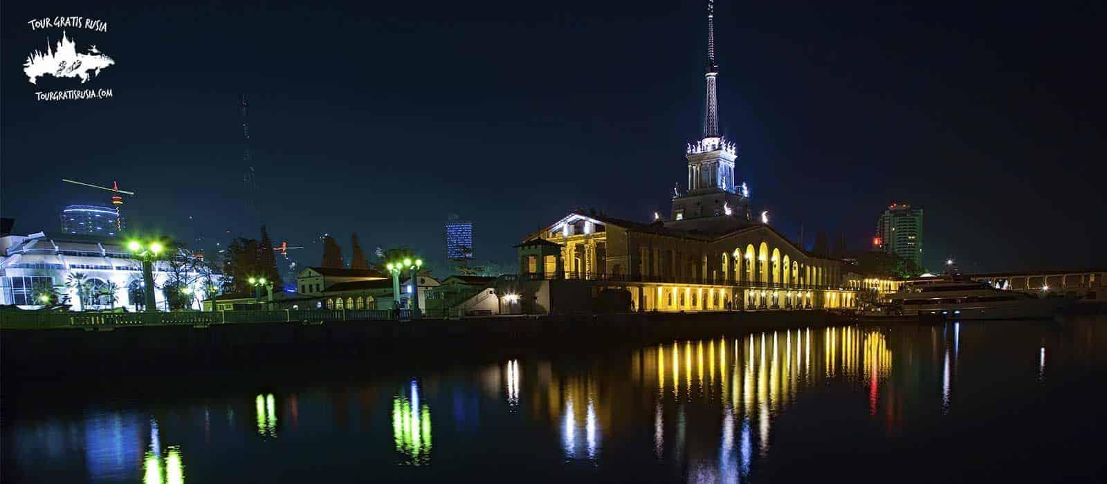 Tour nocturno en Sochi