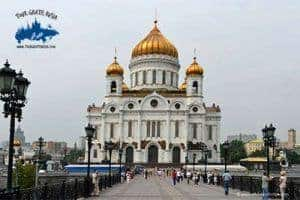 tour gratis Rusia catedral del cristo salvador, Free walking tour