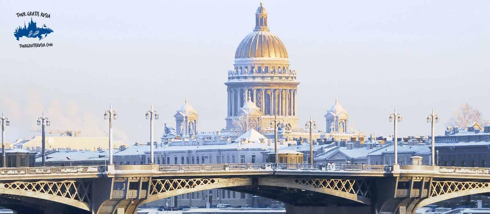 Tour de Invierno en el centro de San Petersburgo