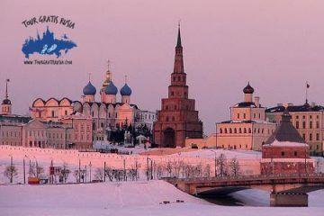 Pasear por Kazan invierno; Excursion invierno en Kazan; Tour de invierno en Kazan