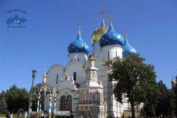Pasear por Sergiev Posad; Tour a Sergiev Posad; Excursión a Sergiev Posad