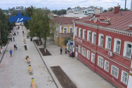 Conocer Semiónov; Pasear por Semiónov; Tour a la ciudad de Semiónov