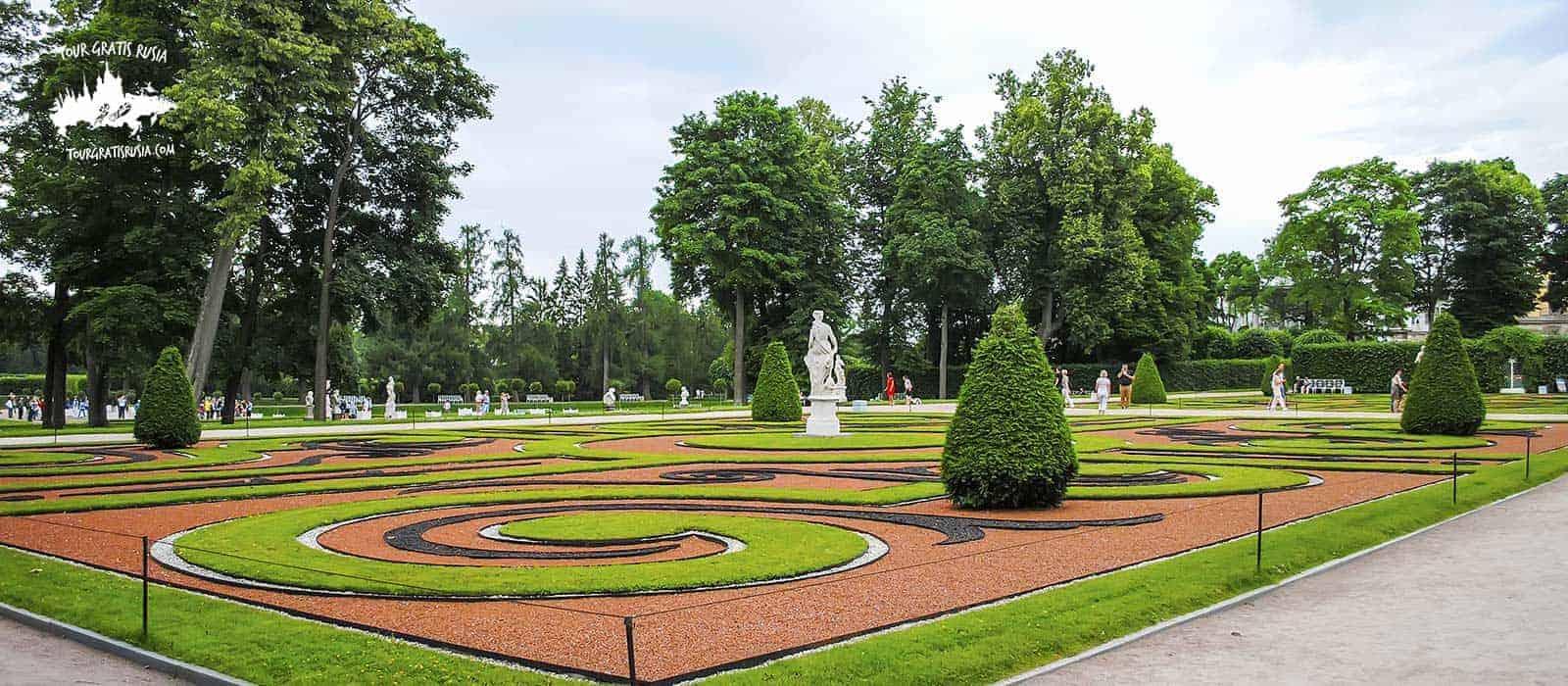 Tour en los Jardines de San Petersburgo