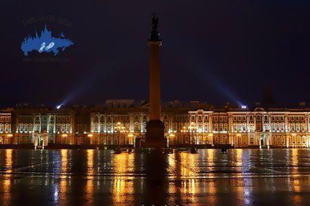 tour nocturno San Petersburgo