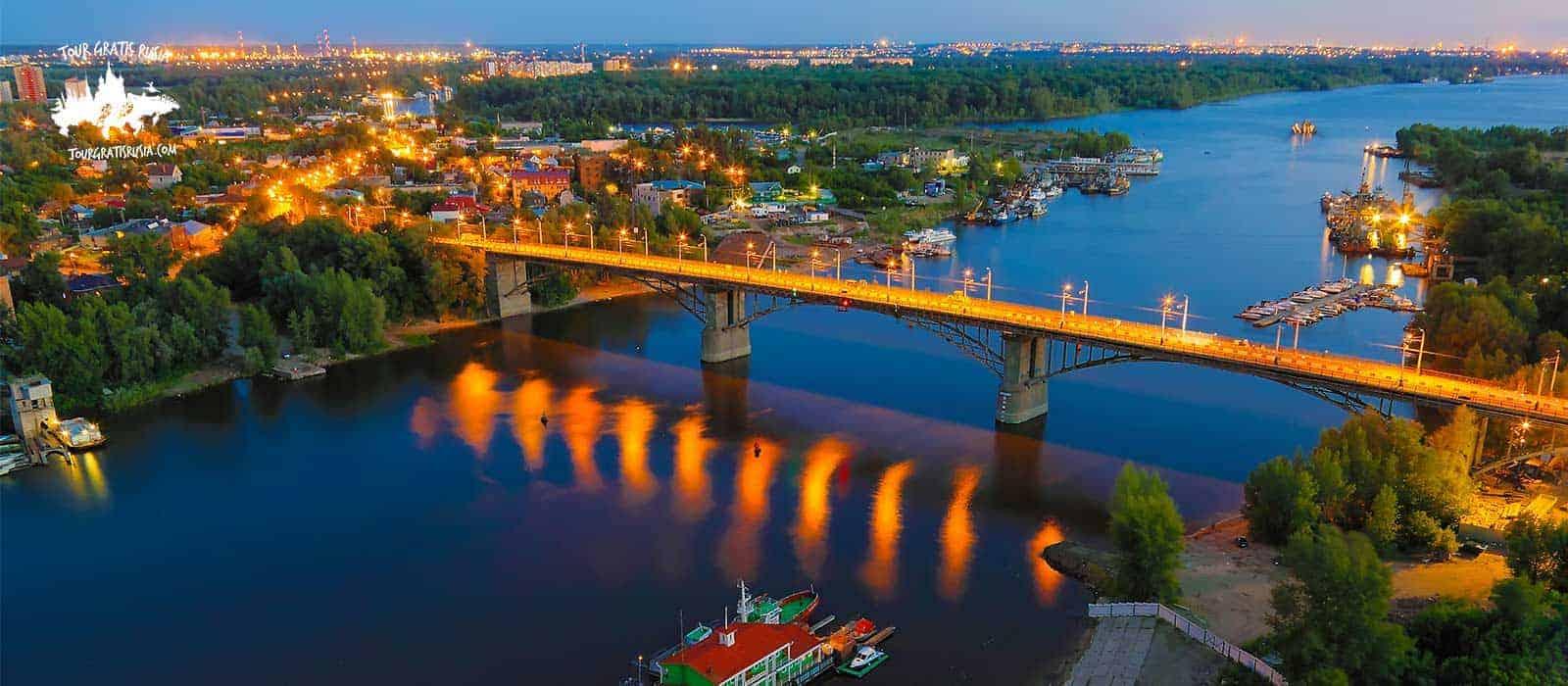 Tour nocturno en Samara