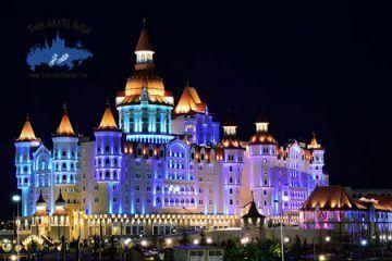 Excursion nocturna en Sochi; Visitar Sochi en la noche; Tour Nocturno en Sochi