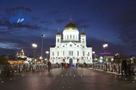 Que ver de noche en Moscú; Excursión nocturna en Moscú; Tour Nocturno en Moscú