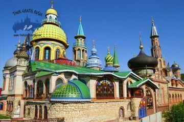 Recorrido privado por Kazan; Tour en el coche privado en Kazan; Excursión Panorámica en Kazan