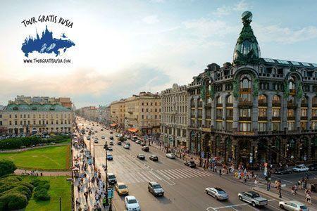Paseo por Nevsky en San Petersburgo; Nevsky Prospekt Tour; Excursión en la Avenida Nevsky