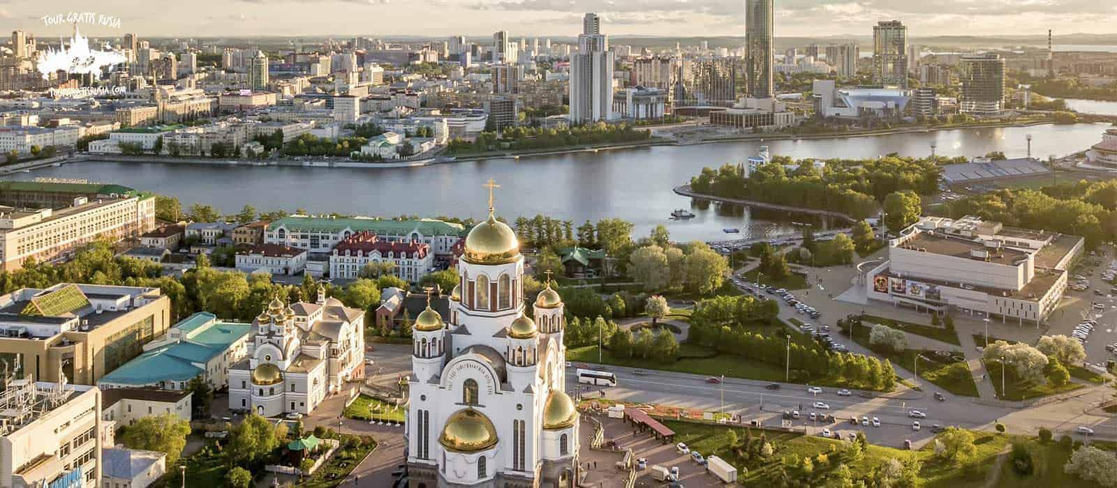 Tour Ciudad Cosmopolita Ekaterimburgo