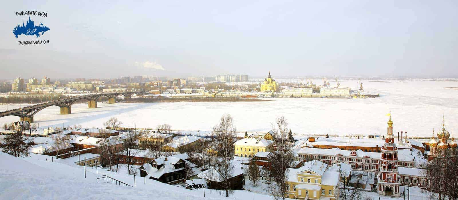 Tour de invierno en Nizhni Novgorod