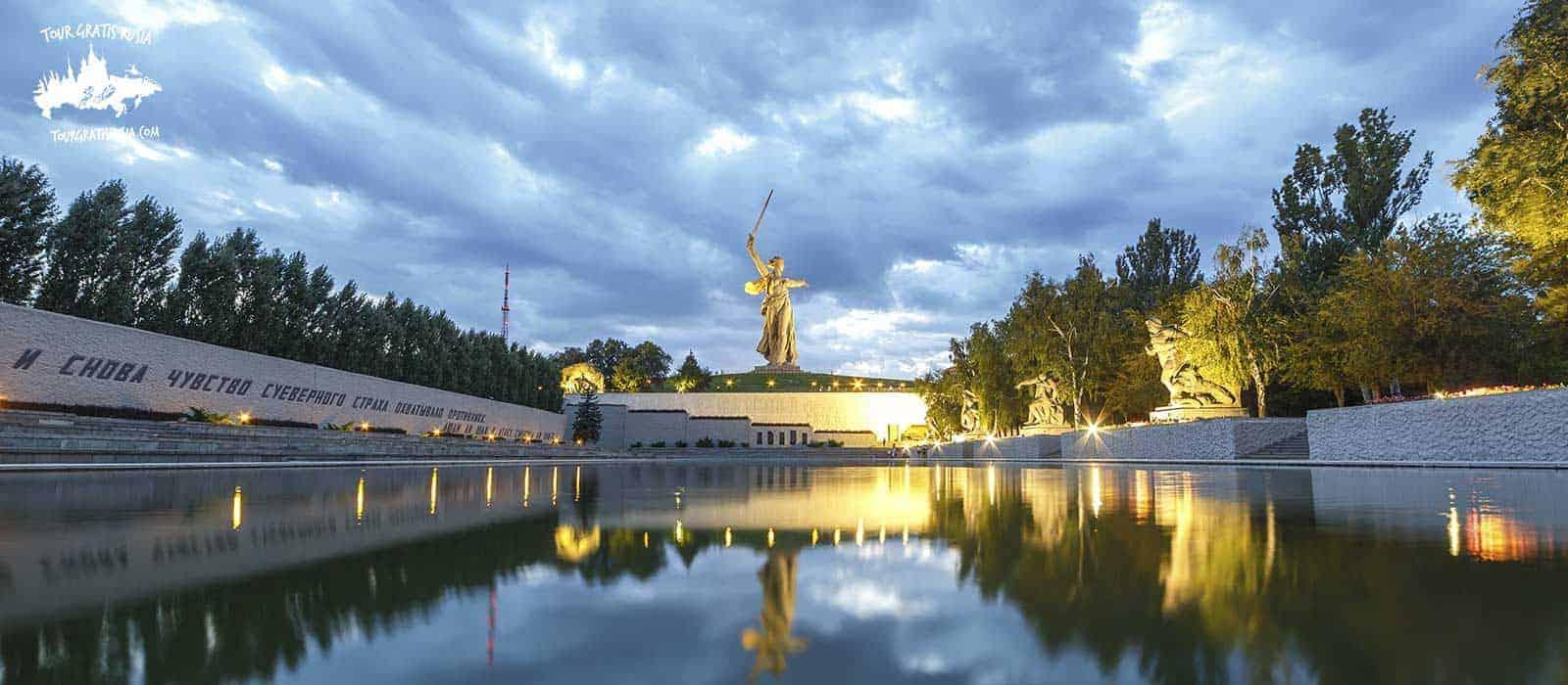 Tour nocturno en Volgogrado