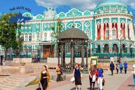 Tour en Ekaterimburgo