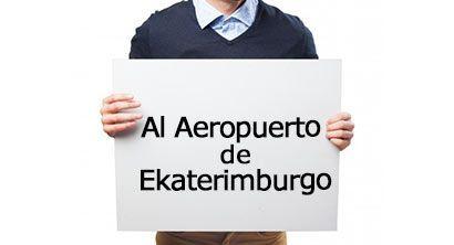 traslado al aeropuerto de ekaterimburgo