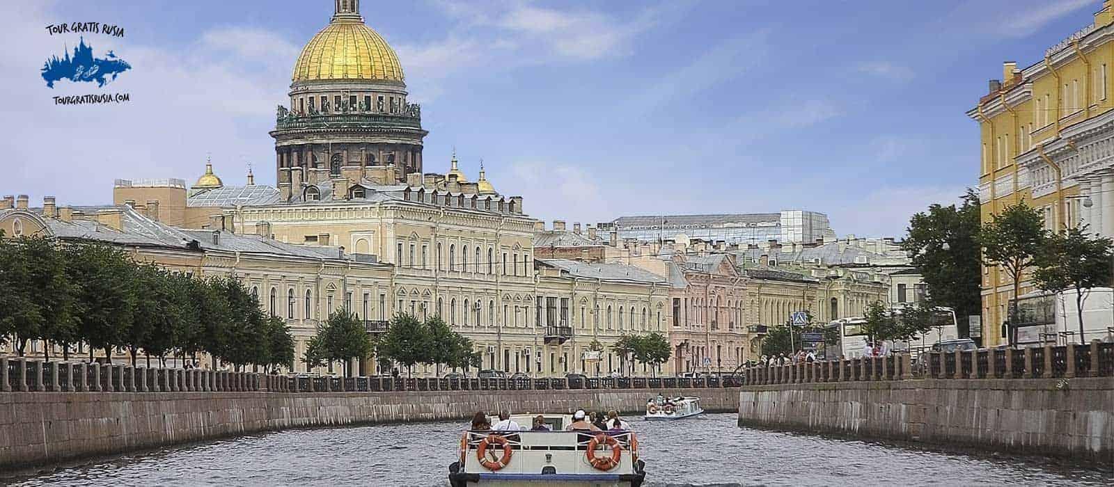 Tour paquete corto centro-gratis y Metro en San Petersburgo