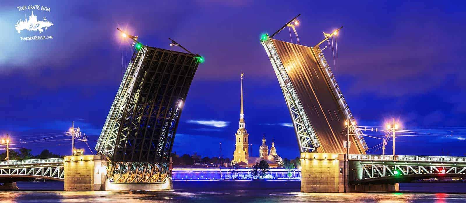 Tour paquete corto centro-gratis y Tour Fortaleza de Pedro y Pablo en San Petersburgo