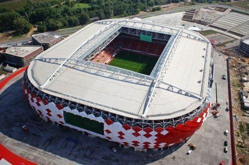 Visitar el estadio Spartak en Moscú; Conocer el estadio Spartak en Moscú.; Recorrer el estadio Spartak en Moscú.